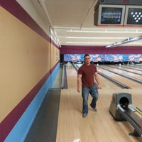 Photo taken at Bowl A Roll Lanes by Jahim a. on 1/8/2014