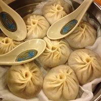 Photo taken at Gourmet Dumpling House by Maria H. on 9/21/2012