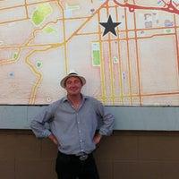 Photo taken at Stamen Watercolor Billboard by George O. on 9/12/2013