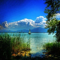 Photo taken at Chiemsee by Michelle D. on 8/14/2013