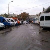 Photo taken at Autogara Centrală by Liubov M. on 9/29/2012
