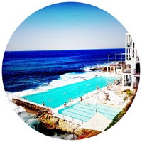 Photo taken at Bondi Icebergs by Andre Y. on 4/14/2013