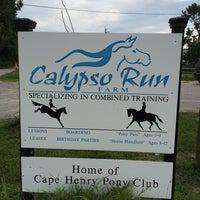 Photo taken at Calypso Run Farm by Felicia S. on 7/19/2014