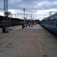 Photo taken at Palakkad Junction (Railway Station) by Sunilkumar N. on 10/21/2012