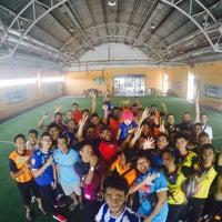 Photo taken at Gembira Parade Futsal Court by Syed A. on 4/9/2016