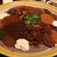 Photo taken at Assab Eritrean Restaurant by Paul J. on 10/30/2016