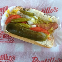 Photo taken at Portillo's Hot Dogs by Ginabean3 on 5/10/2013