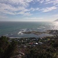 Photo taken at Kommetjie Hiking Trail by Liam B. on 6/23/2013