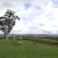 Photo taken at Nepenthe Wines by krara on 11/23/2013