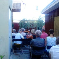 Photo taken at Hasse & Tage Museums Café by Pidde A. on 7/18/2013