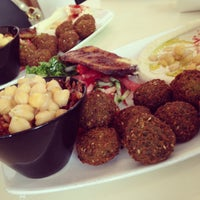Photo taken at Hakosem Falafel by Marjo K. on 7/15/2013