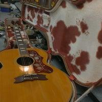Photo taken at James Hood Guitar Repair by James H. on 3/15/2015