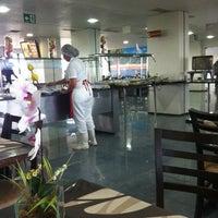 Photo taken at Restaurante Terra Média - ALEAM by Fernanda B. on 2/1/2013