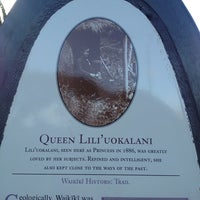 Photo taken at Queen Liliʻuokalani Statue by Lillycita on 8/4/2013