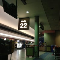 Photo taken at Gate 22 by Nayik O. on 3/24/2013