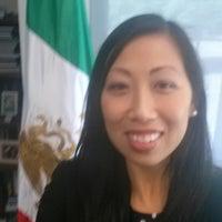 Photo taken at Consulado General de México by Kyla A. on 4/14/2014