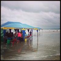 Photo taken at Playa Cojimies by Sergio J. on 5/26/2013