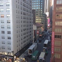 Photo taken at Hampton Inn Manhattan - Times Square North by Marina T. on 1/9/2014
