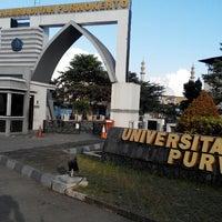 Photo taken at Universitas Muhammadiyah Purwokerto (UMP) by Ainul H. on 8/1/2014
