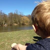 Photo taken at Belhus Lake by Paul G on 3/16/2014