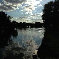 Photo taken at Harrow Lodge Boating Lake by Paul G on 8/11/2013