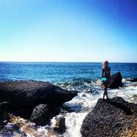 Photo taken at Fourni Beach by Лариса Б. on 9/11/2013
