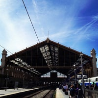 Photo taken at Marseille Saint-Charles Railway Station by Anna J. on 9/27/2012