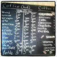 Photo taken at Second Stop Cafe by Anna J. on 12/27/2012