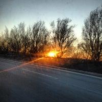 Photo taken at Van Wyck Expressway (I-678) by Anna J. on 12/31/2012