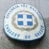 Photo taken at Greek Embassy by Jean H. on 12/12/2013