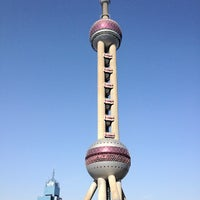 Photo taken at Oriental Pearl Tower by real v. on 12/6/2012