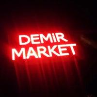 Photo taken at Demir Market by Ramazan D. on 1/6/2018