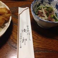 Photo taken at すきやばし次郎 by Taku H. on 6/14/2014