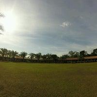 Photo taken at SMA Cendana by R. Trianisa T. on 9/19/2016