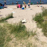 Photo taken at Durand Eastman Beach by Jesse F. on 6/19/2016