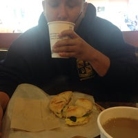 Photo taken at Uncle Harry's New York Bagelry & Coffeehouse by Michael R. on 11/16/2014