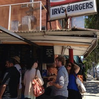 Photo taken at Irv's Burgers by ByRShapiro on 8/21/2013