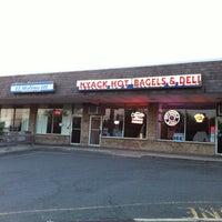 Photo taken at Nyack Hot Bagels & Deli by Tom V. on 4/19/2012