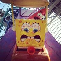 Photo taken at Nickelodeon Universe® by Dan W. on 7/12/2012