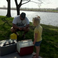 Photo taken at Dell Rapids Park by Marcy A. on 4/1/2012