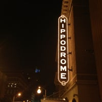 Photo taken at The Hippodrome Theatre at the France-Merrick Performing Arts Center by Olivia H. on 10/3/2012