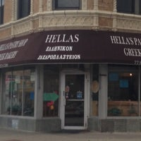Photo taken at Hellas Pastry Shop by Noel V. on 10/6/2013