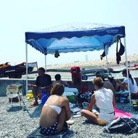 Photo taken at 二色の浜 海浜緑地 by 岡部 遥. on 8/14/2016
