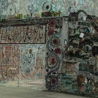 Photo taken at Philadelphia's Magic Gardens by Imani M. on 3/11/2013