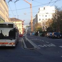 Photo taken at H Hessenplatz by austrianpsycho on 11/2/2013