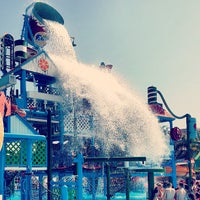 Photo taken at Fasouri Watermania Waterpark by AE on 6/13/2013