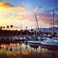 Photo taken at Santa Barbara Harbor by Sarah S. on 5/12/2013