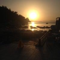 Photo taken at Beach Bar & Restaurant by Ezgi A. on 5/19/2013
