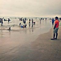 Photo taken at Playa miramar by Marco R. on 7/8/2016