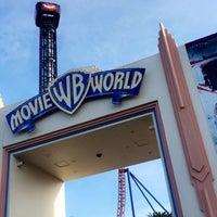 Photo taken at Warner Bros. Movie World by Jao J. on 4/30/2016
